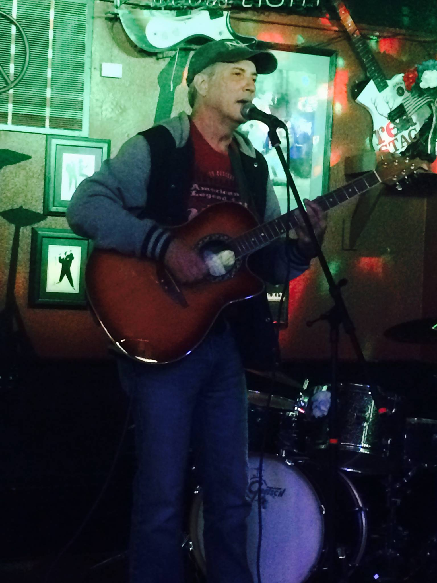 Johnny Keys at                               Jiggs Steakhouse and Music Saloon.
